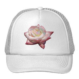 """""""Enameled"""" effect pastels rose Hat"""