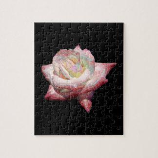 """Enameled"" effect pastels rose Puzzle"