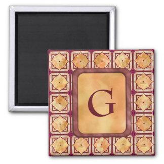 Enameled Tiles Magnet