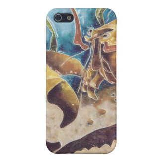 Enamelled American Blue Lobster Case For iPhone SE/5/5s