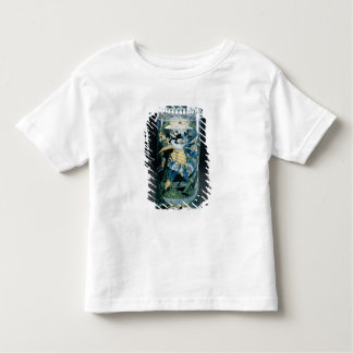 Enamelled decoration of a Hunter and a Woman Toddler T-shirt