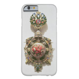 Enamelled medallion depicting the coat of arms of barely there iPhone 6 case