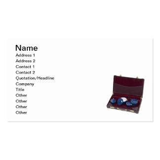 Enamelware de la cartera tarjetas de visita