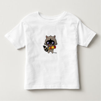 Enamored raccoon toddler t-shirt