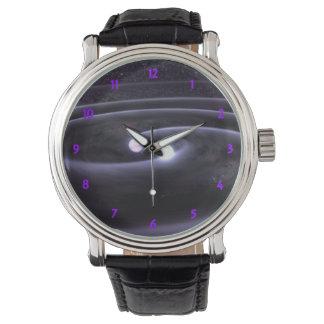 Enano blanco binario relojes de pulsera