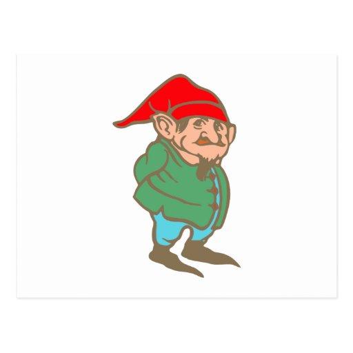 Enano dwarf tarjeta postal