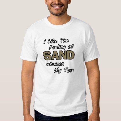 Enarene en camiseta de los dedos del pie remera