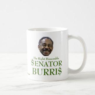 $enator Burri$ Classic White Coffee Mug