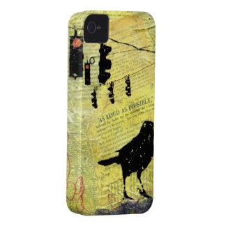 Encajone al compañero Barely There TAN Case-Mate iPhone 4 Protectores