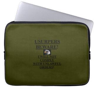 Encajone el verde del OD de la manga de /Laptop (1 Fundas Computadoras
