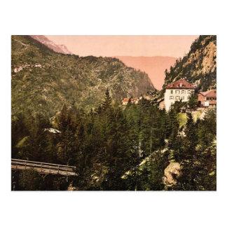 Encamine a de la Tete Noire, el hotel, valle de Ch Postal