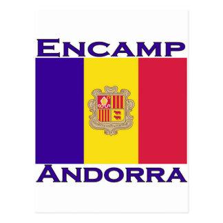 Encamp, Andorra Postcard