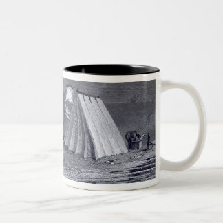 Encampment in Browell Cove, July 15, 1826, from 'N Two-Tone Coffee Mug