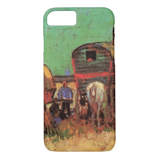 Encampment of Gypsies Caravans by Vincent van Gogh iPhone 7 Case