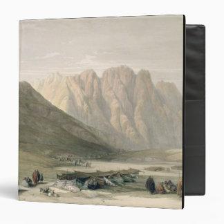 Encampment of the Aulad-Said, Mount Sinai, Februar 3 Ring Binder
