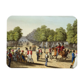 Encampment of the British Army in the Bois de Boul Rectangular Photo Magnet