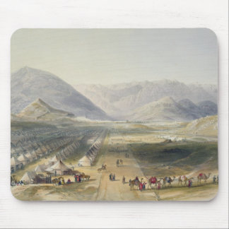 Encampment of the Kandahar Army under General Nott Mouse Pad