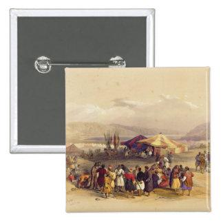 Encampment of the Pilgrims at Jericho' Volume II Pinback Button