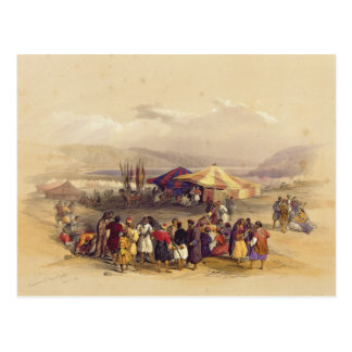 Encampment of the Pilgrims at Jericho' Volume II Postcard