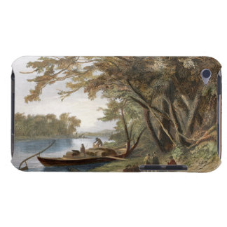 Encampment of the Travellers on the Missouri, plat Barely There iPod Case