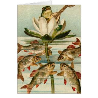 Encantador de los pescados felicitacion