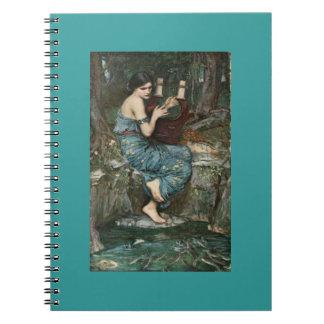 Encantador de marinos spiral notebooks