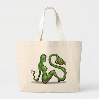 Encantador de serpiente bolsa de mano