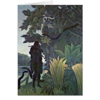 Encantador de serpiente de Henri Rousseau Felicitaciones