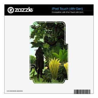 encantador de serpiente iPod touch 4G calcomanías