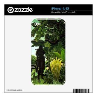 encantador de serpiente calcomanías para iPhone 4S