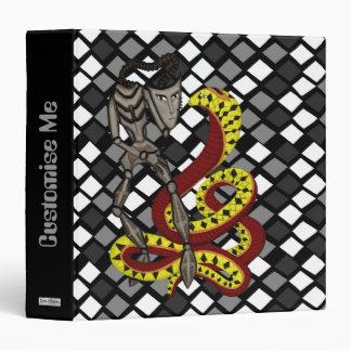 Encantador de serpiente (la serpiente y el robot)