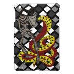 Encantador de serpiente (la serpiente y el robot) iPad mini coberturas