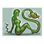 Encantador de serpiente postales