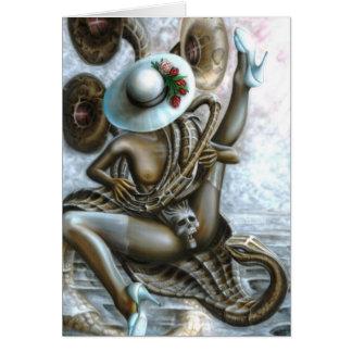 Encantador de serpiente felicitaciones
