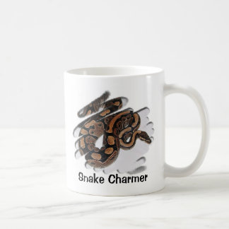 Encantador de serpiente tazas de café