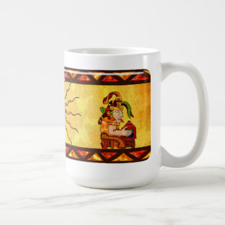 Encantador De Serpientes AZTEC Tazas De Café