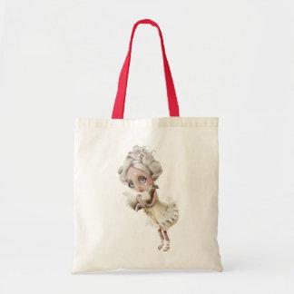 Encantamiento privado bolsa tela barata