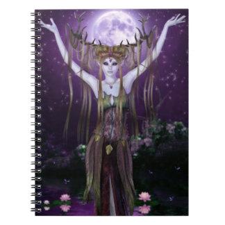 Encantamientos del cuaderno de las criaturas de la
