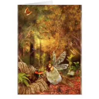 Encantamientos inesperados tarjeta de felicitación