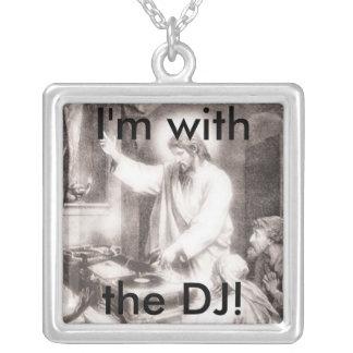 Encanto de DJ Jesús Colgante Cuadrado