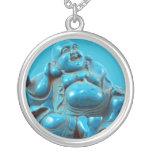 Encanto de la bisutería del vintage de Buda de la  Collar