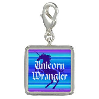 """""""Encanto de Wrangler del unicornio"""" Dijes Con Foto"""