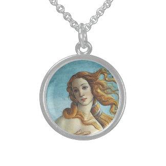 Encanto del Aphrodite de Venus de la diosa del Collares De Plata Esterlina