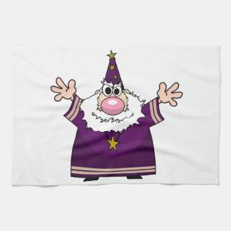 Encanto del bastidor del mago toallas