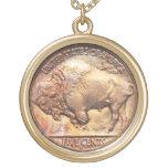 Encanto del colector de moneda de níquel del búfal grimpolas