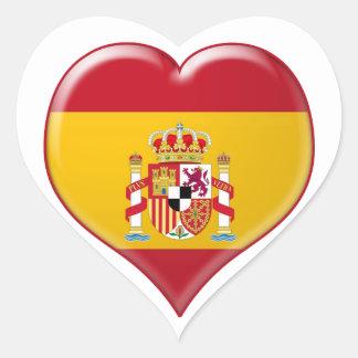 Encanto del Corazón de España Heart Sticker
