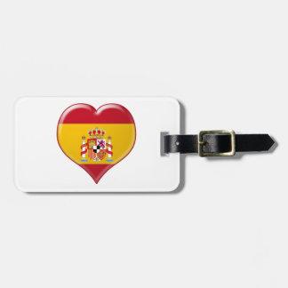 Encanto del Corazón de España Tag For Luggage