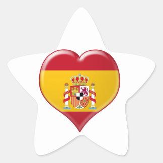 Encanto del Corazón de España Star Sticker