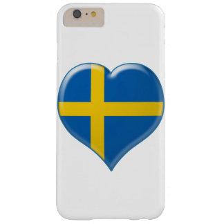 Encanto del hjärta de Svensk Funda Para iPhone 6 Plus Barely There