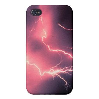 Encanto del relámpago iPhone 4/4S carcasa